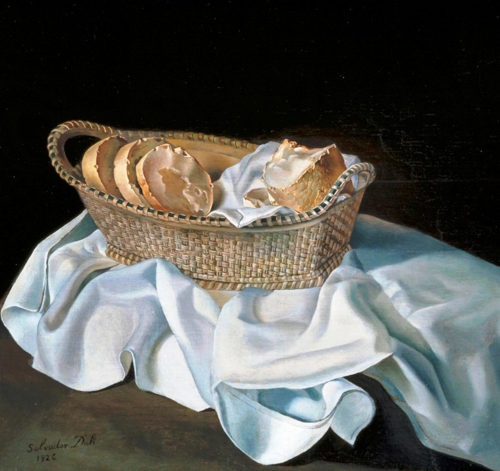 Salvador-Dali-The-Basket-of-Bread-1926