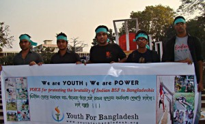 Shehzad Aman with Youth For Bangladesh