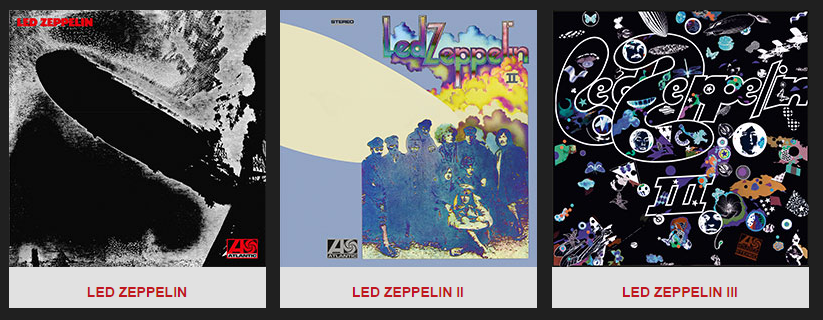 First Three Albums Newly Remastered With Previously Unreleased Companion Audio Purchase Page   Led Zeppelin   Official Website